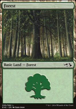 Duel Decks: Anthology: Forest (Elves vs Goblins 30 C)
