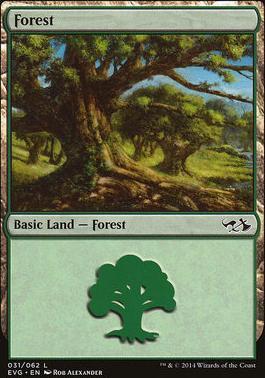 Duel Decks: Anthology: Forest (Elves vs Goblins 31 D)