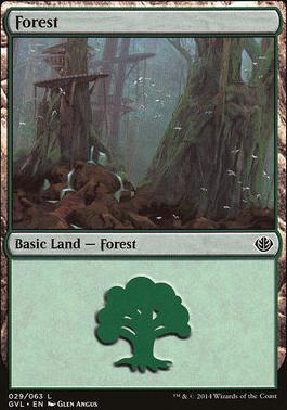 Duel Decks: Anthology: Forest (Garruk vs Liliana 29 B)