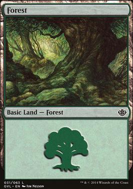 Duel Decks: Anthology: Forest (Garruk vs Liliana 31 D)