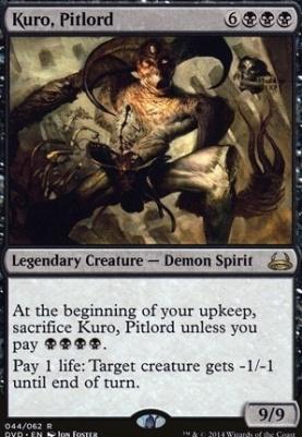 Duel Decks: Anthology: Kuro, Pitlord (Divine vs Demonic)