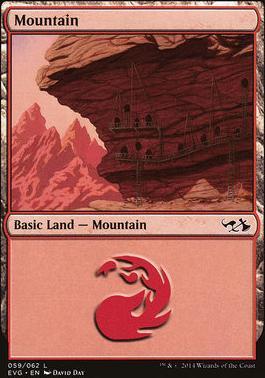 Duel Decks: Anthology: Mountain (Elves vs Goblins 59 A)