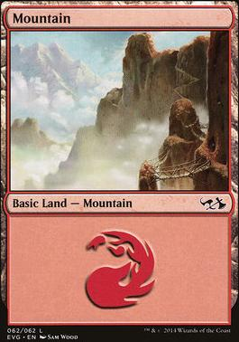 Duel Decks: Anthology: Mountain (Elves vs Goblins 62 D)