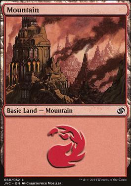 Duel Decks: Anthology: Mountain (Jace vs Chandra 60 B)
