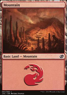 Duel Decks: Anthology: Mountain (Jace vs Chandra 61 C)