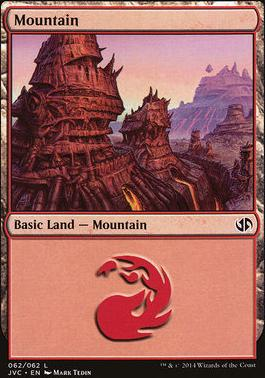 Duel Decks: Anthology: Mountain (Jace vs Chandra 62 D)