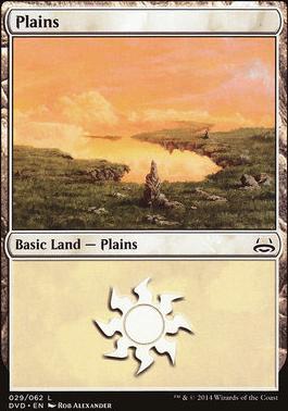 Duel Decks: Anthology: Plains (Divine vs Demonic 29 D)
