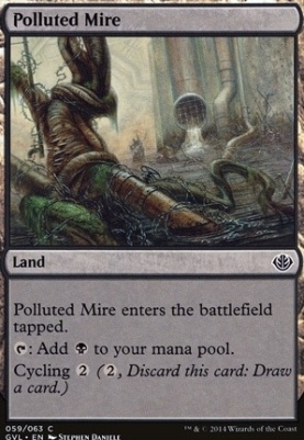 Duel Decks: Anthology: Polluted Mire (Garruk vs Liliana)