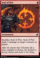 Duel Decks: Anthology: Seal of Fire (Jace vs Chandra)
