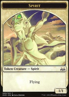 Duel Decks: Anthology: Spirit Token (Divine vs Demonic)