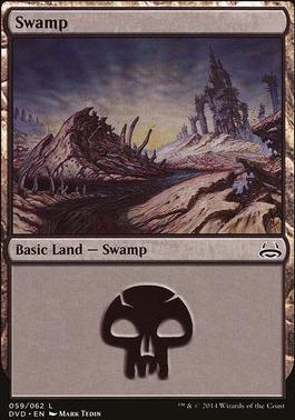 Duel Decks: Anthology: Swamp (Divine vs Demonic 59 A)