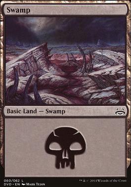 Duel Decks: Anthology: Swamp (Divine vs Demonic 60 B)