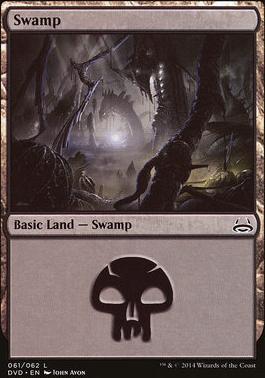 Duel Decks: Anthology: Swamp (Divine vs Demonic 61 C)