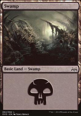 Duel Decks: Anthology: Swamp (Divine vs Demonic 62 D)