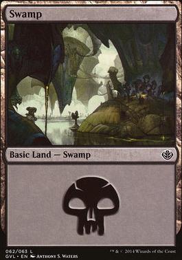 Duel Decks: Anthology: Swamp (Garruk vs Liliana 62 C)