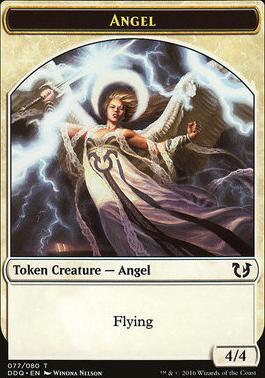 Duel Decks: Blessed Vs. Cursed: Angel Token