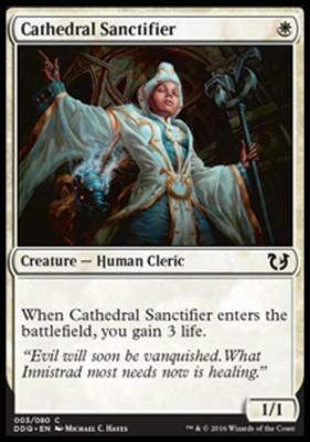 Duel Decks: Blessed Vs. Cursed: Cathedral Sanctifier