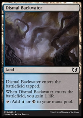 Duel Decks: Blessed Vs. Cursed: Dismal Backwater