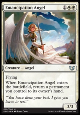 Duel Decks: Blessed Vs. Cursed: Emancipation Angel