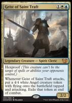 Duel Decks: Blessed Vs. Cursed: Geist of Saint Traft (Foil)