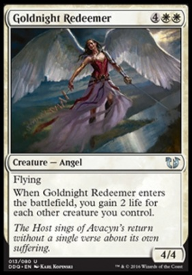 Duel Decks: Blessed Vs. Cursed: Goldnight Redeemer