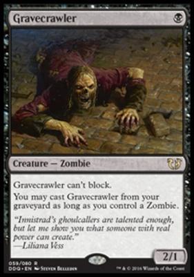 Duel Decks: Blessed Vs. Cursed: Gravecrawler