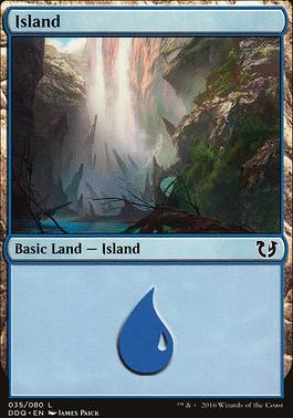 Duel Decks: Blessed Vs. Cursed: Island (35 A)