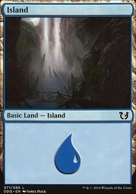 Duel Decks: Blessed Vs. Cursed: Island (71 D)
