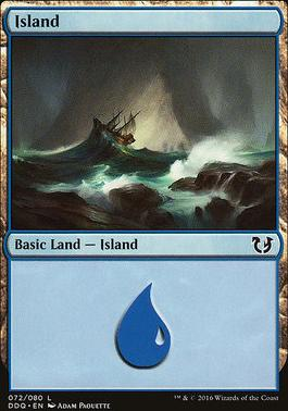 Duel Decks: Blessed Vs. Cursed: Island (72 E)