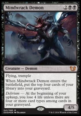 Duel Decks: Blessed Vs. Cursed: Mindwrack Demon (Foil)
