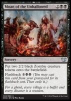 Duel Decks: Blessed Vs. Cursed: Moan of the Unhallowed