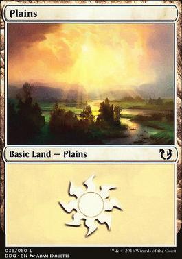 Duel Decks: Blessed Vs. Cursed: Plains (38 A)