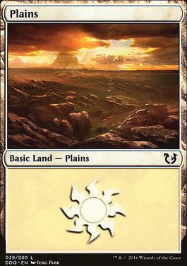 Duel Decks: Blessed Vs. Cursed: Plains (39 B)