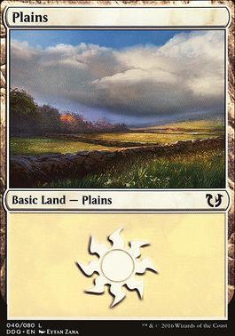Duel Decks: Blessed Vs. Cursed: Plains (40 C)