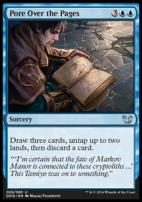 Duel Decks: Blessed Vs. Cursed: Pore Over the Pages