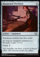 Duel Decks: Blessed Vs. Cursed: Sharpened Pitchfork