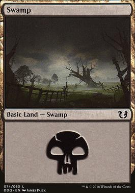 Duel Decks: Blessed Vs. Cursed: Swamp (74 A)