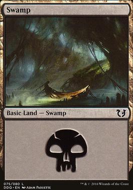 Duel Decks: Blessed Vs. Cursed: Swamp (75 B)