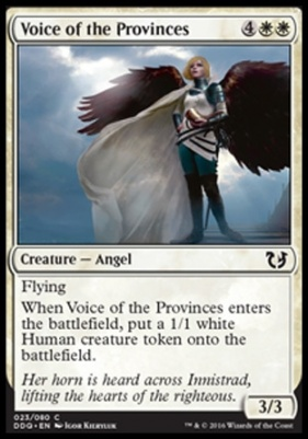 Duel Decks: Blessed Vs. Cursed: Voice of the Provinces