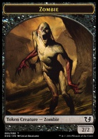 Duel Decks: Blessed Vs. Cursed: Zombie Token