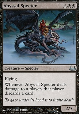 Duel Decks: Divine vs Demonic: Abyssal Specter