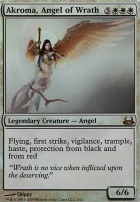 Duel Decks: Divine Vs. Demonic: Akroma, Angel of Wrath (Foil)