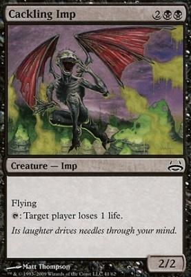Duel Decks: Divine Vs. Demonic: Cackling Imp