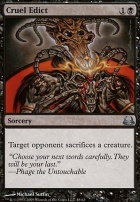 Duel Decks: Divine Vs. Demonic: Cruel Edict