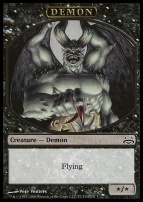 Duel Decks: Divine Vs. Demonic: Demon Token
