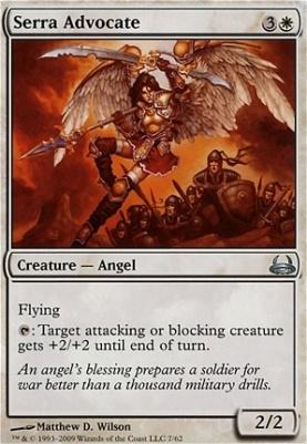 Duel Decks: Divine Vs. Demonic: Serra Advocate