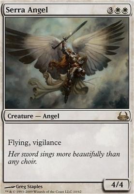 Duel Decks: Divine Vs. Demonic: Serra Angel