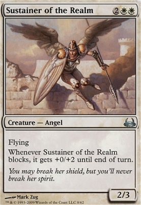 Duel Decks: Divine Vs. Demonic: Sustainer of the Realm