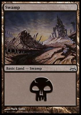 Duel Decks: Divine Vs. Demonic: Swamp (59 A)