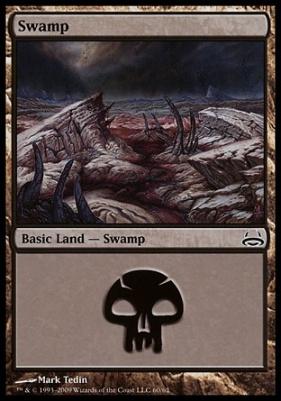 Duel Decks: Divine Vs. Demonic: Swamp (60 B)